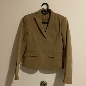 button front theory blazer